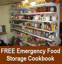 Free: Emergency Food Storage Cookbook