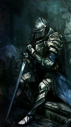 m Paladin Plate Armor Helm Longsword male twin lg Armadura Medieval, Fantasy Kunst, Dark Fantasy Art, Medieval Knight, Medieval Fantasy, Armor Concept, Concept Art, Knight Art, Fantasy Armor