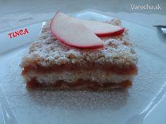 Sypaný hrnčekový jablčník (fotorecept) - Recept
