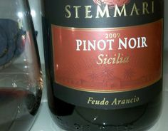 The latest -- tried this Pinot Noir from Italy. Sicily. Great color. Friendly.  Around $10.00.