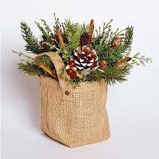 Image result for christmas centerpiece pine cedar