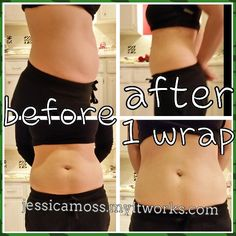 Tighten and tone your skin with a wrap! Natural botanical cream it's a spa for your skin! #amazing