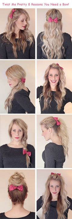 Reasons hair need a bow.