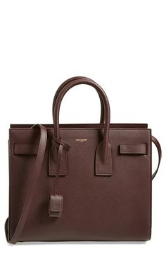 Saint Laurent 'Small Sac de Jour' Grained Leather Tote available at #Nordstrom