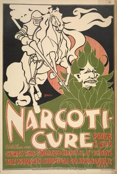 biomedicalephemera:    After you cure your cold with cigarettes, cure your addiction to cigarettes with narcotics!