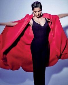 Sonam Kapoor in Ulyana Sergeenko couture jumpsuit for @elleindiaofficial