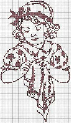 net weaving, cross stitch or crochet Cross Stitch For Kids, Cross Stitch Charts, Cross Stitch Designs, Cross Stitch Patterns, Cross Stitching, Cross Stitch Embroidery, Embroidery Patterns, Hand Embroidery, Crochet Patterns