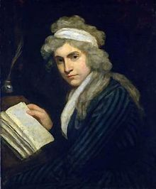 Mary Wollstonecraft - a great women's right philosopher.