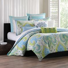 Echo Design Sardina Comforter - Bed Bath & Beyond