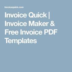 Salim Handan Salimhandan On Pinterest - Quick invoice maker