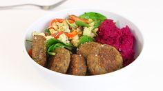 Falafel bowl - Vegomagasinet