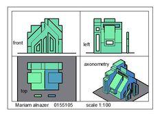 Mariam Al-Nazer Hasan Isawiالرسم والاظهار المعماري