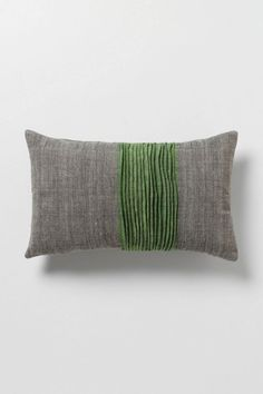 With a grey and green pillow to tie in the beautiful chair and gorilla pillow I already own [Lucid Outlines Pillow