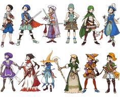 Final Fantasy Tactics Advance Jobs