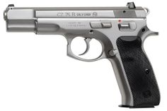 CZ 01108 CZ-75 75B 9mm 10 round Black Synthetic Grip Stainless Finish,01108,806703011080