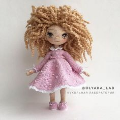 Кукла Бетти Кареглазая кучеряшка Просто очаровательная девочка #кудряшкиоляки Рост 18 см -------------------------- ✔️sold out / при маме ------------------------- #olyaka_lab #кукольнаялабораторияоля_ка