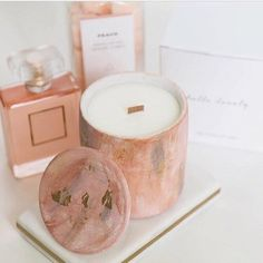 Gourmand Lait De Coco Eau De Parfum And Hand Cream Set! Blended Scents Of Juicy Mandarin, Honey Blossom, Sandalwood & Praline! A Luxurious Fragrance