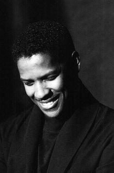 """Denzel Washington photographed by Jeffrey Henson Scales, 1990 "" Denzel Washington, Mississippi, Like You, Actors, Fictional Characters, Tv, Black Men Styles, Man Style, Black Men"