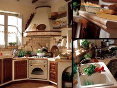 Modelli di cucine country - cucine su misura