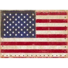 Vintage American Canvas Art - Sam Appleman (18 x 24)