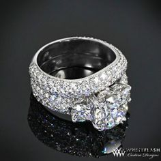 97 Best Wedding Rings Images On Pinterest Rings Jewelry And
