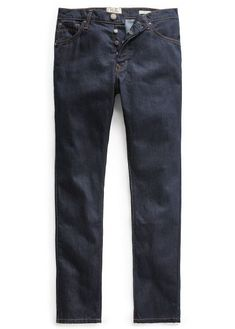 4baf5717280 Slim-fit comfort dark wash jeans from the denim collection. Five pockets