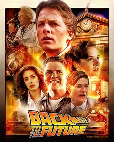 "Really cool ""Back to the Future"" poster"