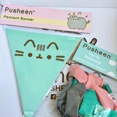 Pusheen Box from CultureFly Pusheen Happy Birthday, Happy Birthday Bunny, Cat Birthday, Puppy Party, Cat Party, 13th Birthday Parties, Birthday Party Themes, Pusheen Cute, Its My Bday