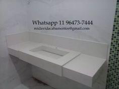 pia de porcelanato com cuba esculpida Cuba, Bathtub, Bathroom, Bathroom Sinks, Standing Bath, Bath Room, Bath Tub, Bathrooms, Bathtubs