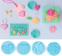Crafter's Clay Romantic Silicon Mold | DECO Clay Craft Academy Online Shop