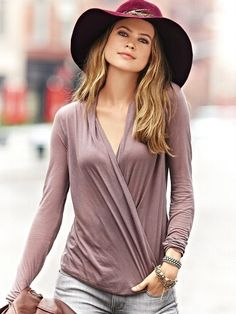 wide shoulders:  Soft, draped fabrics on the top half, this will make your shoulders look softer