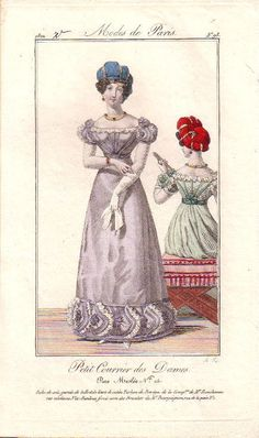 1822. Modes de Paris -plate 98