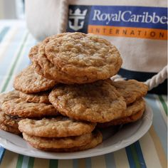 Royal Caribbean's Coconut Ranger Cookies. Find this and other wonderfully yummy copycat recipes from food artisans around the world at yumgoggle.com