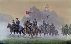John Buford & his cavalry division, Gettysburg, Pa