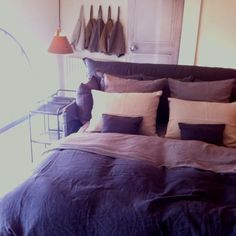 french linen bedding - Google Search
