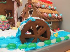 Gingerbread Mill House - Christmas