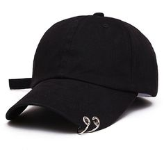 XBeshine BTS Live The WINGS Tour Kpop Iron Ring Hats Adjustable... ❤ liked on Polyvore featuring accessories, hats, adjustable baseball hats, baseball cap hats, ball cap hats, ball cap and adjustable hats