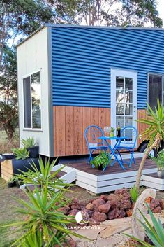 This stylish tiny house rental in Victoria is the perfect weekend getaway from Melbourne. Guests will love their peaceful rental in The Gurdies! Romantic Weekend Getaways, Romantic Vacations, Tiny House Rentals, Go Glamping, The Perfect Getaway, Container Homes, Stunning View, Tiny Houses, Nice View