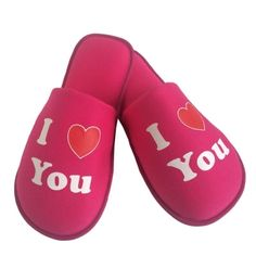 Pantufa I love you  Pink