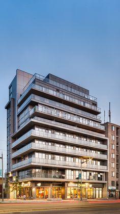 Stafford developments, E. Richmond architects, the rushton, saint clair west, toronto. Toronto, Latest Images, Studio, Architects, Multi Story Building, Studios, Building Homes, Architecture