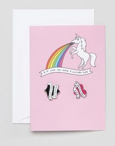 Veronica - Dearly Unicorn - Carte de mariage