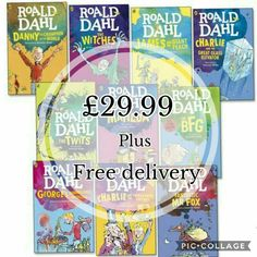 My all time favourite childhood author. This collection of Roald Dahl books are the perfect gift. Available in my online shop..