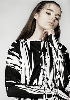 Hardcore punk and abstract art: Louise Alsop AW15 | Dazed