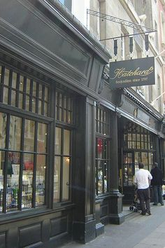 Hatchards is the oldest bookshop in London & U.K.  Founded by John Hatchard in 1797 on Piccadilly,where it still trades today. Origins were founded through a bought collection of merchandise from Simon Vandenbergh, controversial bookseller/18th century.