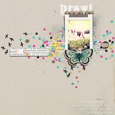 14 Scrapbookers Lift Their Own Scrapbook Designs and Show You How | Carrie Arick | Get It Scrapped