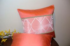 Decorative pillow Royal size 14in. x 14in. by Emurs on Etsy