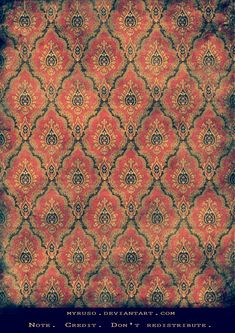 victorian wallpaper | Creative Commons Attribution-Noncommercial-No Derivative Works 3.0 ...