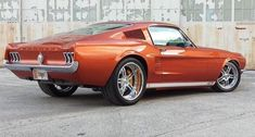 1967 Mustang 427R Fastback Machrod. Facebook: @metalroadstudio Very cool! #fordclassiccars
