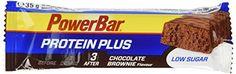 Powerbar Barre Proteinplus Low Sugar Goût Chocolat Brownie – Lot de 30: Goût Chocolat Brownie Barre de protéines de qualité́ supérieure,…