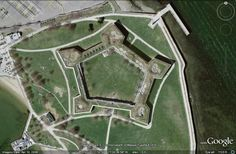 star forts | Fort Independence, Boston, Massachusetts, United States, completed ...